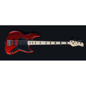 SIRE MARCUS MILLER V7 VINTAGE BASS GUITAR 5ST (ASH) BRIGHT METALIC RED COLOR
