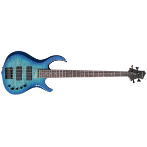 SIRE MARCUS MILLER M3 BASS GUITAR TRANSPARENT BLUE BURST COLOR